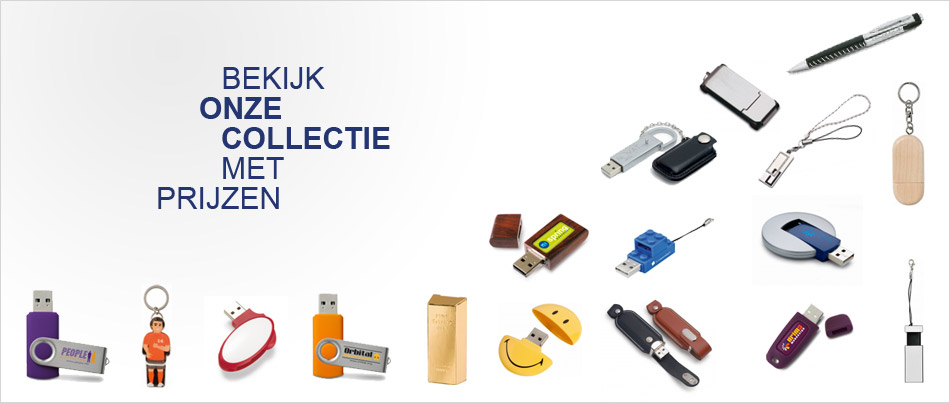Bedrukte USB Sticks